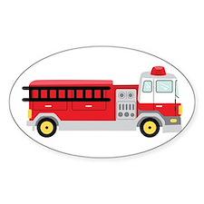 Fire Truck Decal