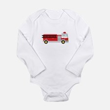 Fire Truck Body Suit
