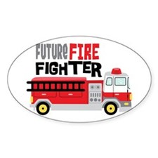 Future Fire Fighter Decal