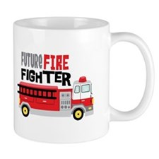 Future Fire Fighter Mugs