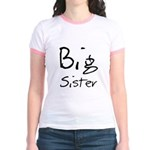 Big Sister (Black Text) Jr. Ringer T-Shirt
