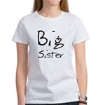 Big Sister (Black Text) Women's T-Shirt