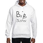 Big Sister (Black Text) Hooded Sweatshirt