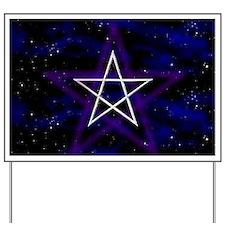 Cosmic Pentagram Yard Sign