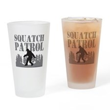 SQUATCH PATROL Drinking Glass