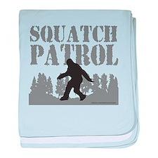 SQUATCH PATROL baby blanket