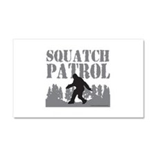 SQUATCH PATROL Car Magnet 20 x 12