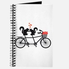 tandem bicycle with squirrels Journal