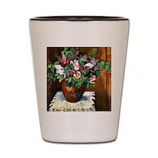 Suzanne Valadon - Vase of Flowers Shot Glass