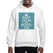 Keep Calm and Novel On Jumper Hoody