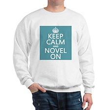 Keep Calm and Novel On Jumper