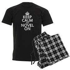 Keep Calm and Novel On pajamas