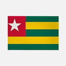 Togolese Flag of Togo Rectangle Magnet