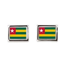 Togolese Flag of Togo Cufflinks