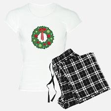 Christmas Wreath Pajamas