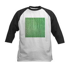 Faux Green crocodile skin pattern Baseball Jersey