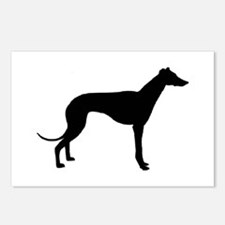 greyhound 2 Postcards (Package of 8)