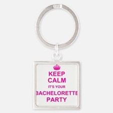 Keep Calm its your Bachelorette Party Keychains