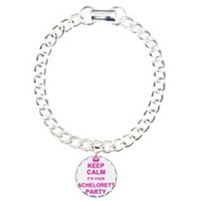 Keep Calm its your Bachelorette Party Charm Bracel