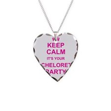 Keep Calm its your Bachelorette Party Necklace