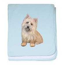 Cairn Terrier (#4B) baby blanket