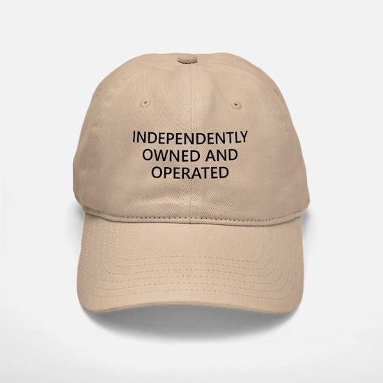 Independently Owned Baseball Baseball Cap
