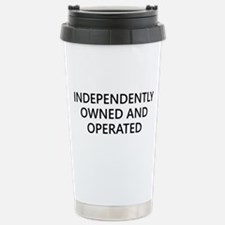 Independently Stainless Steel Travel Mug