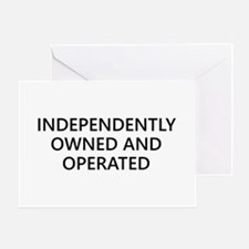Independently Greeting Card