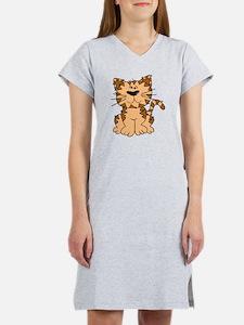 Cat Sitting Women's Nightshirt