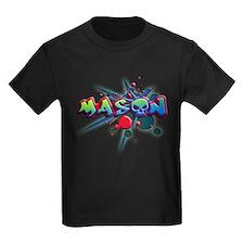 first name Mason skull o graffiti style T-Shirt