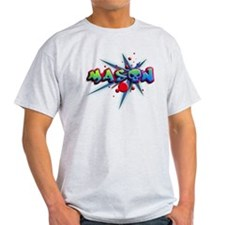 first name Mason skull o graffiti style T-Shirt
