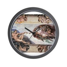 The Creation of Adam Wall Clock