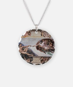 The Creation of Adam Necklace