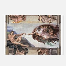 The Creation of Adam Postcards (Package of 8)