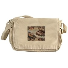 The Creation of Adam Messenger Bag