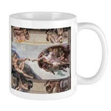 The Creation of Adam Mugs