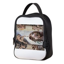 The Creation of Adam Neoprene Lunch Bag