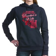 Crazy Truckers Wife Hooded Sweatshirt