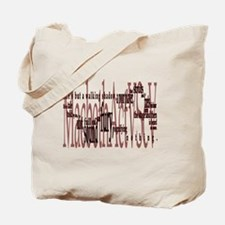 Shakespeare Macbeth Quote : Life's but a  Tote Bag