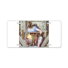 Daniel Prophet of Israel Aluminum License Plate