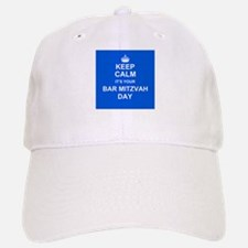 Keep Calm its your Bar Mitzvah day Baseball Baseball Cap
