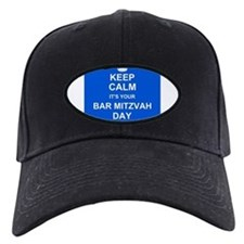 Keep Calm its your Bar Mitzvah day Baseball Cap