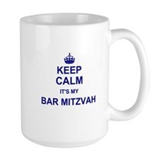 Keep Calm its your Bar Mitzvah day Mugs