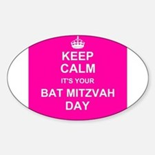 Keep Calm its your Bat Mitzvah day Decal