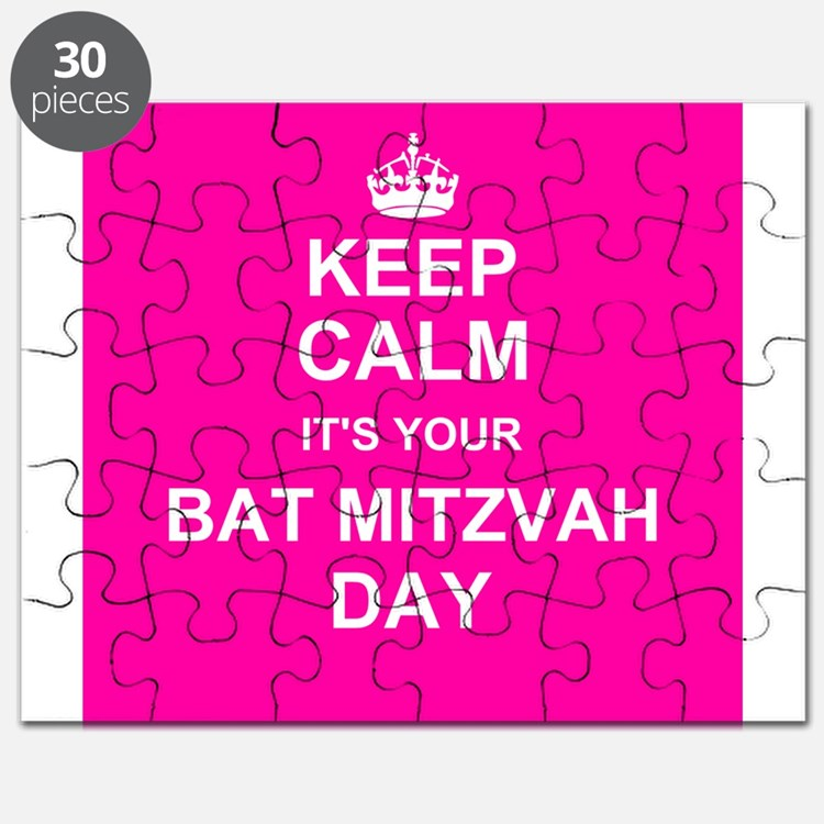 Keep Calm its your Bat Mitzvah day Puzzle