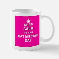 Keep Calm its your Bat Mitzvah day Mugs