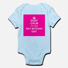 Keep Calm its your Bat Mitzvah day Body Suit