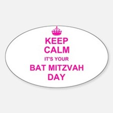 Keep Calm its your Bat Mitzvah Decal