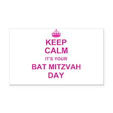 Keep Calm its your Bat Mitzvah Rectangle Car Magne