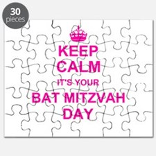 Keep Calm its your Bat Mitzvah Puzzle